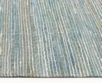 Scandi Floors Artisan Hemp 225x155cm Rug - Turquoise 3