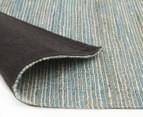 Scandi Floors Artisan Hemp 320x230cm Rug - Turquoise 4