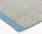 Scandi Floors Artisan Wool 280x190cm Rug - Blue 2