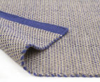 Scandi Floors Artisan Wool 280x190cm Rug - Navy 4