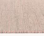 Scandi Floors Artisan Wool 225x155cm Rug - Pink 3