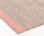 Scandi Floors Artisan Wool 280x190cm Rug - Pink 2