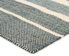 Scandi Floors Artisan Wool 280x190cm Rug - Teal 2