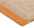 Scandi Floors Artisan Wool 280x190cm Rug - Rust 2