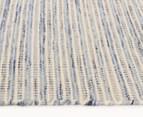 Scandi Floors Artisan Wool 225x155cm Rug - Blue 3