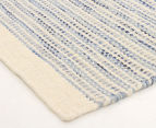 Scandi Floors Artisan Wool 320x230cm Rug - Blue 2