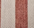 Handwoven Cotton & Wool Flatweave 225x155cm Rug - Copper 4