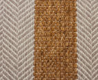 Handwoven Cotton & Wool Flatweave 280x190cm Rug - Yellow 4