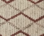 Handwoven Viscose & Wool 225x155cm Rug - Copper 4