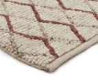Handwoven Viscose & Wool 320x230cm Rug - Copper 2