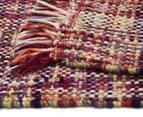 Handwoven Pure Wool Flatweave 320x230cm Rug - Multi 5