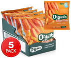 5 x Organix Finger Foods Carrot Sticks 20g 1