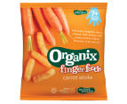 5 x Organix Finger Foods Carrot Sticks 20g 2