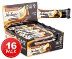 16 x Well Naturally No Sugar Added Bars Dark Choc Almond Chip 45g 1