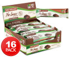 16 x Well Naturally No Sugar Added Bars Milk Choc Peppermint Chip 45g 1