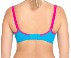 Triumph Triaction Endurance Smooth Bra - Blue Jewel 4