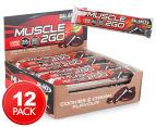 12 x Balance Muscle 2 Go Protein Bar Cookies & Cream 90g 1