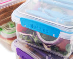 Sistema 1.2L Lunch Plus To Go Container 4-Pack - Blue/Pink/Green/Purple 2
