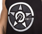 Unit Men's Closure Tank - Black 6