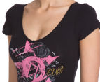 Unit Women's County Tee - Black 6