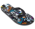 Unit Men's Pedestrian Flip Flop - Multi 1