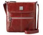 Relic Erica Flap Crossbody Bag - Real Red 1