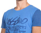 Mossimo Men's Palm Cove Crew Tee - Reef 5