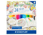 STAEDTLER Ergo Soft Triangular Coloured Pencils 24-Pack 1