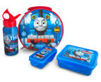 Zak! Thomas the Tank Engine 4-Piece Lunch Set - Blue/Red 1