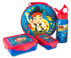 Zak! Jake & the Never Land Pirates 4-Piece Lunch Set - Blue 1