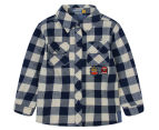 UC Junior Check Shirt - Navy 1