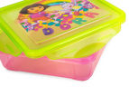 Zak! Dora the Explorer 4-Piece Lunch Set - Pink 6