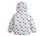 BQT Baby Polka Dots Jacket - White 2