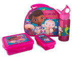 Zak! Doc McStuffins 4-Piece Lunch Set - Pink 1