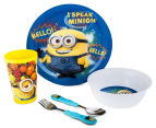 Zak! Minions 5-Piece Mealtime Set - Yellow 1