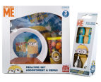 Zak! Minions 5-Piece Mealtime Set - Yellow 2