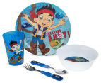 Zak! Jake & the Never Land Pirates 5-Piece Mealtime Set - Blue 1