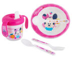 Zak! Minnie Mouse Infant Mealtime Set - Pink 1