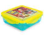 Zak! Paw Patrol Snap Sandwich Container - Yellow/Blue 1
