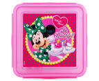 Zak! Minnie Mouse Snap Sandwich Container - Pink 2