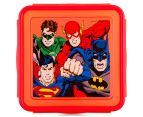 Zak! Justice League Snap Sandwich Container - Red/Yellow 2