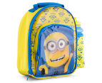Zak! Minions Insulated Lunch Bag & Bottle - Yellow/Blue 2