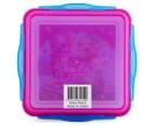 Zak! Shopkins Snap Sandwich Container - Pink/Blue 6
