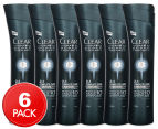 6 x Clear Men Scalp Therapy Anti-Dandruff Shampoo & Conditioner 200mL 1