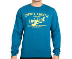 Russell Athletic Men's Campus Omega Crew - Moroccan Blue 2