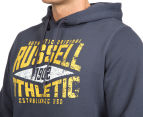 Russell Athletic Men's Campus Iota Hoodie - Stormcloud 6