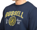Russell Athletic Men's Campus Sigma Crew - Galaxy 6