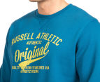 Russell Athletic Men's Campus Omega Crew - Moroccan Blue 6