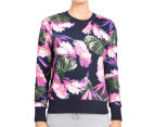 Bonds Women's Sweats Pullover - Super Optic Bloom 2