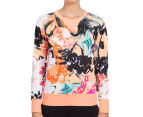 Bonds Women's Sweats Pullover - Studio Floral 2